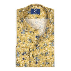 R2 Chemise moutarde fantaisie